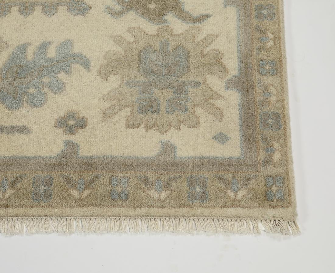 Hand knotted wool Indo-Oushak carpet, 12 x 9 - 3