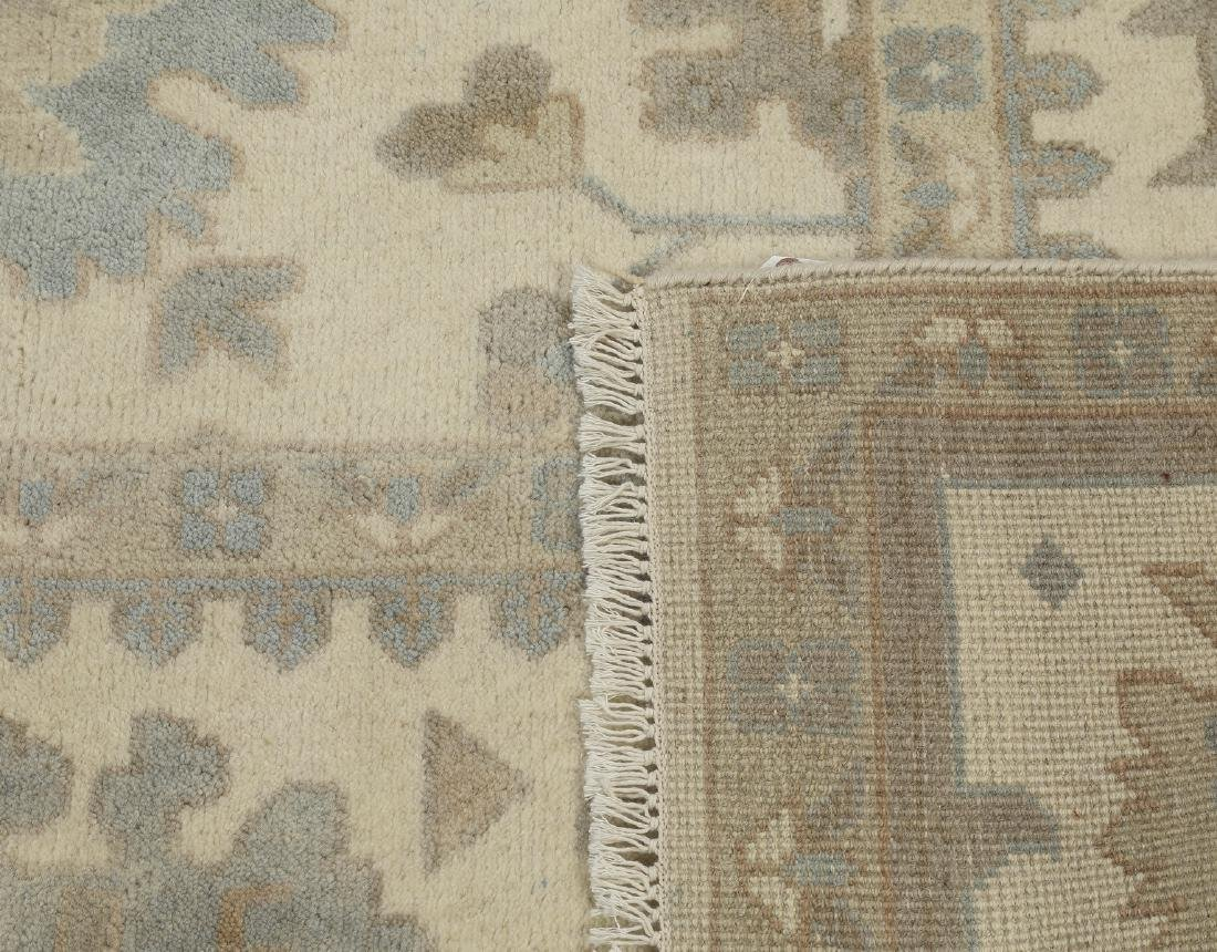 Hand knotted wool Indo-Oushak carpet, 12 x 9 - 4