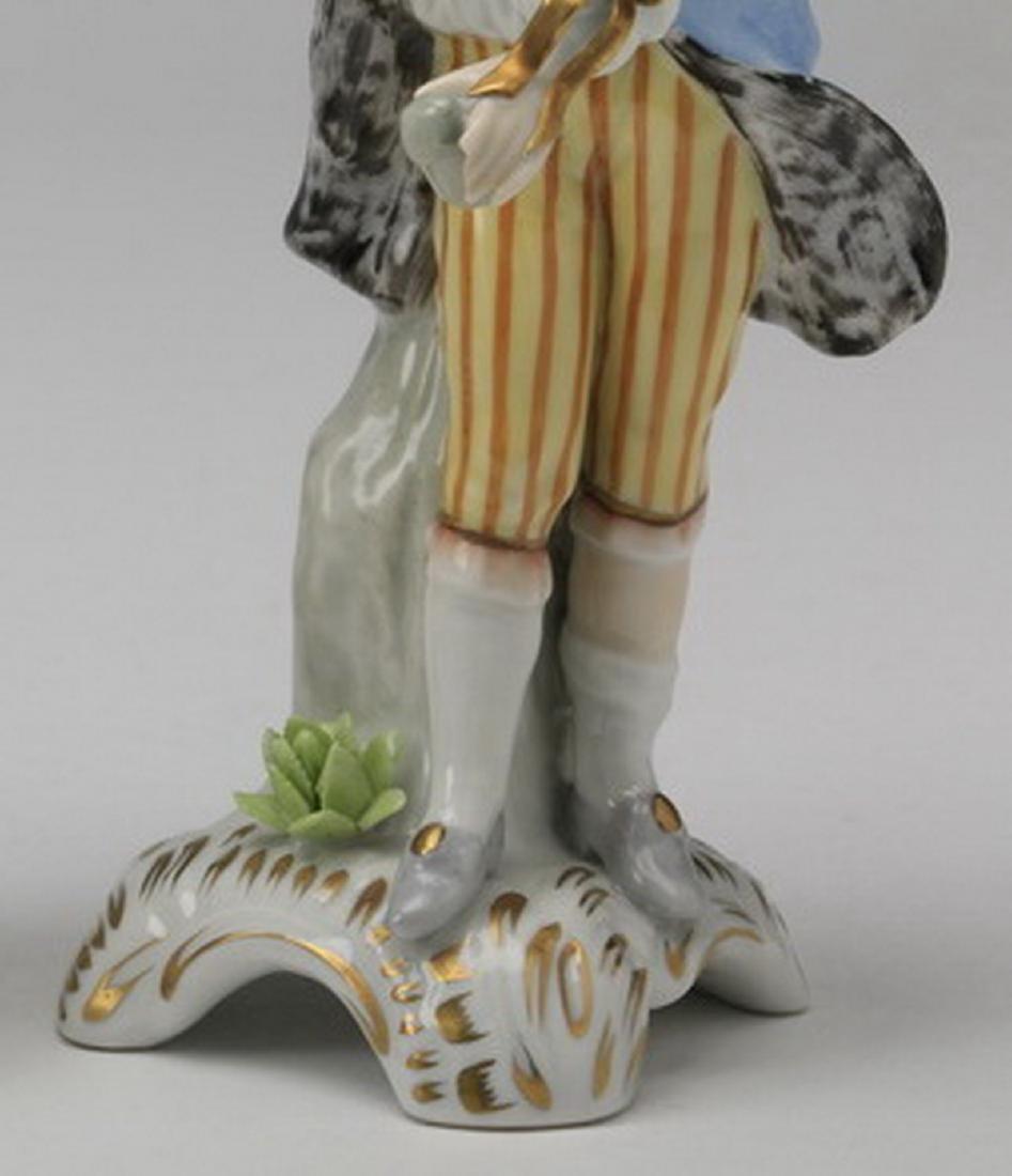 19th c.. Capodimonte figure of a traveler - 3