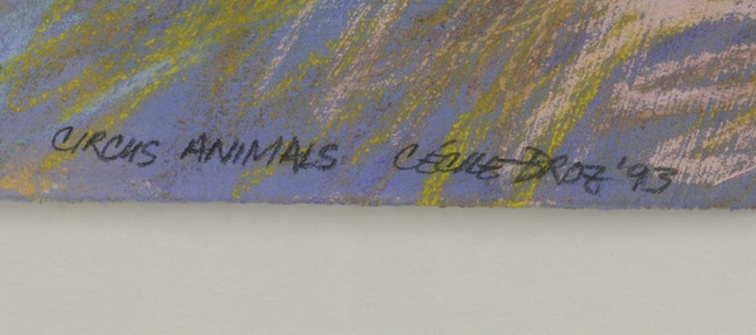 """Cecile Broz 'Circus Animals', signed, 52""""w - 3"""
