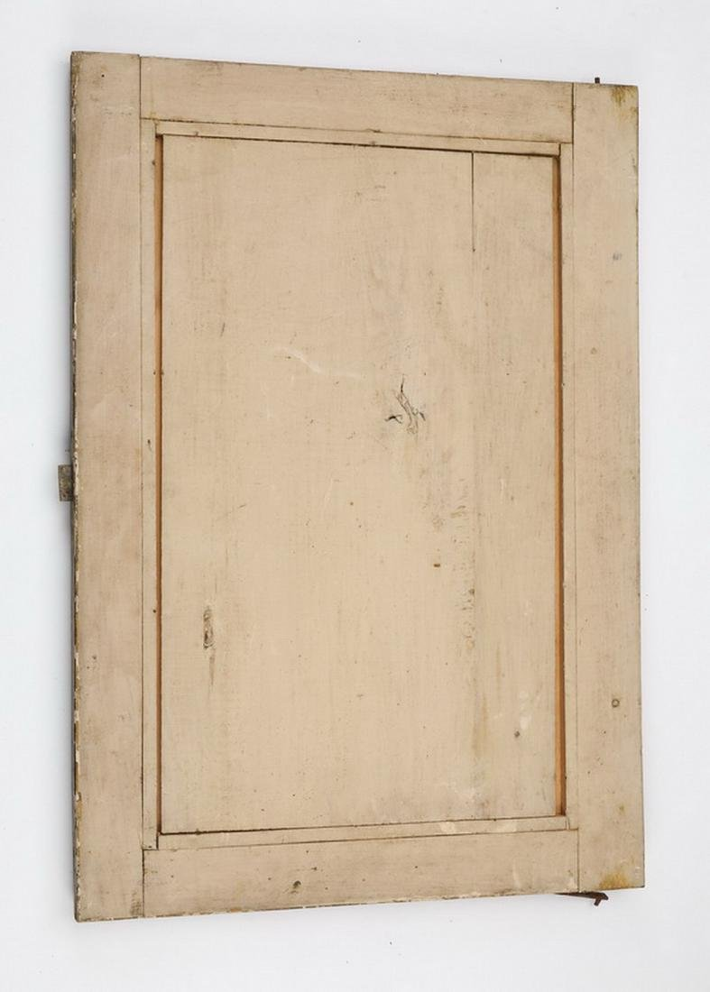 "19th c. carved architectural panel, 27""h - 2"