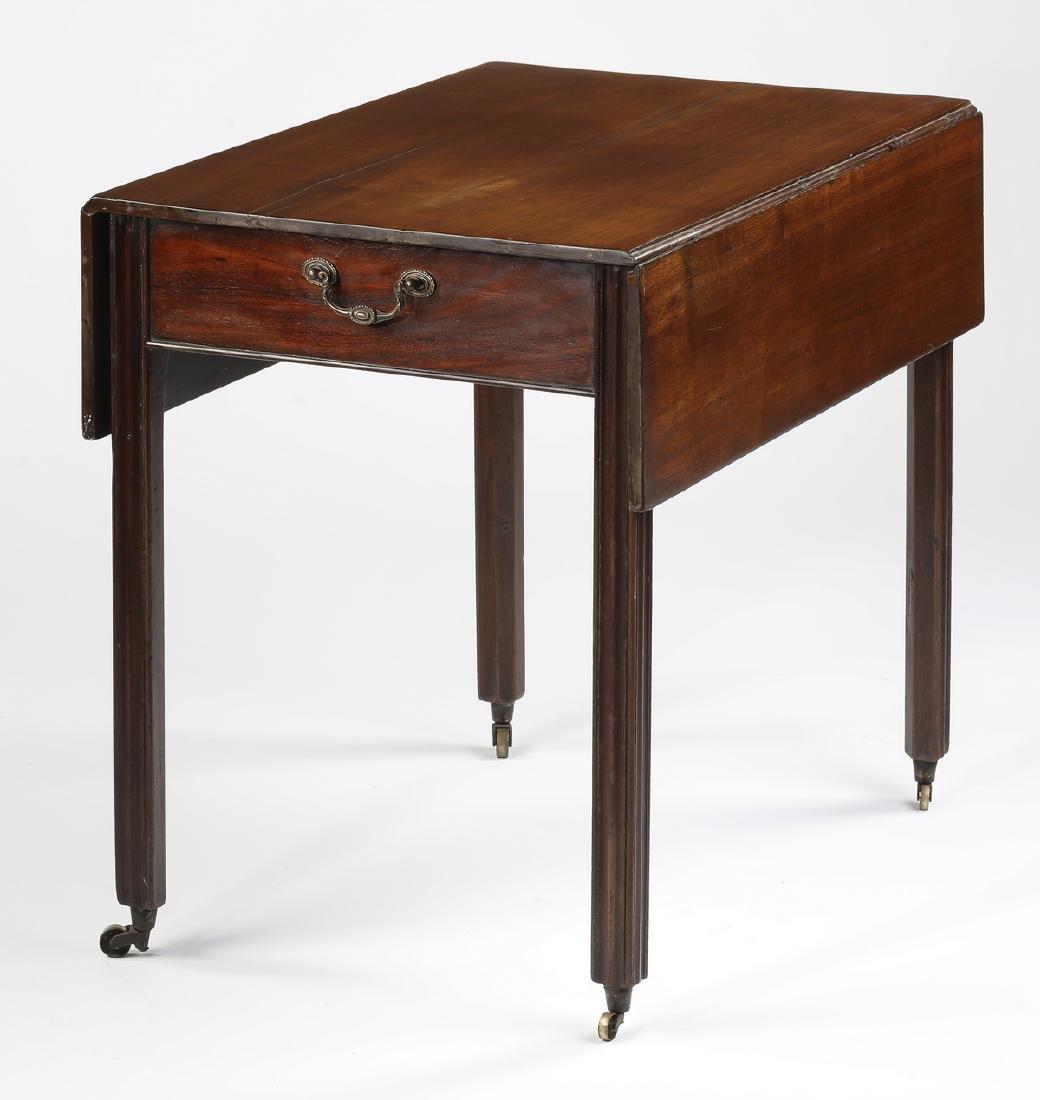Contemporary mahogany Pembroke table