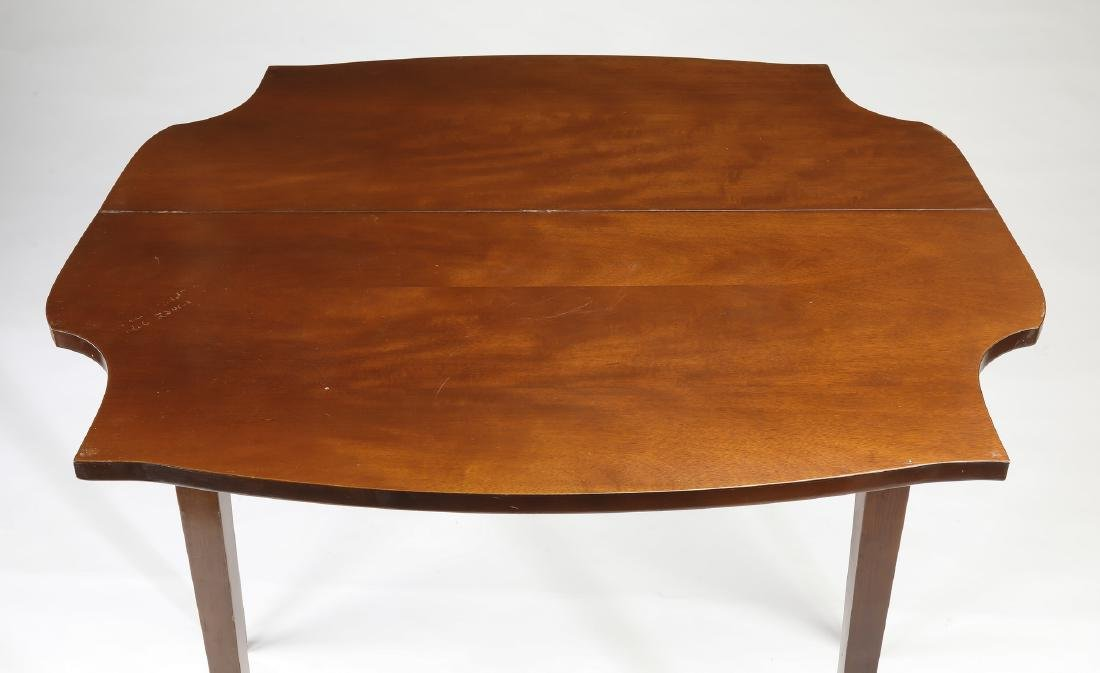 Neo-classical style mahogany games table - 3