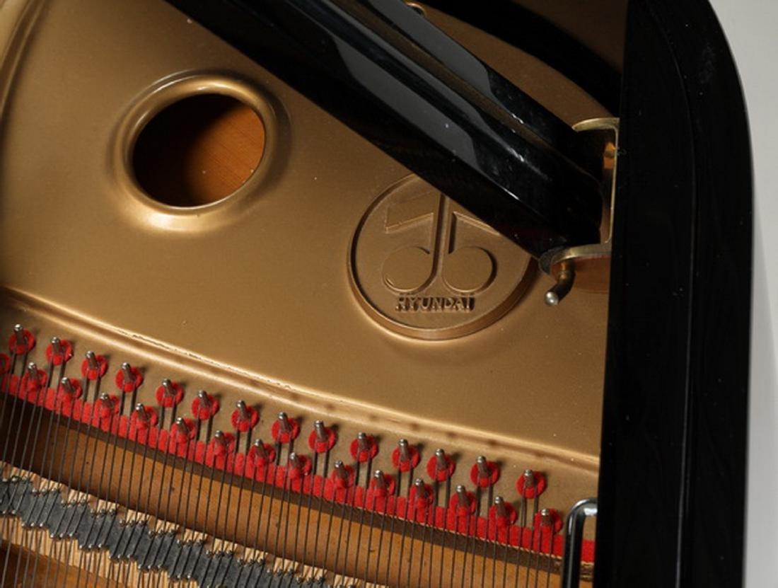 Fletcher & Sons baby grand piano w/ ebony finish - 5
