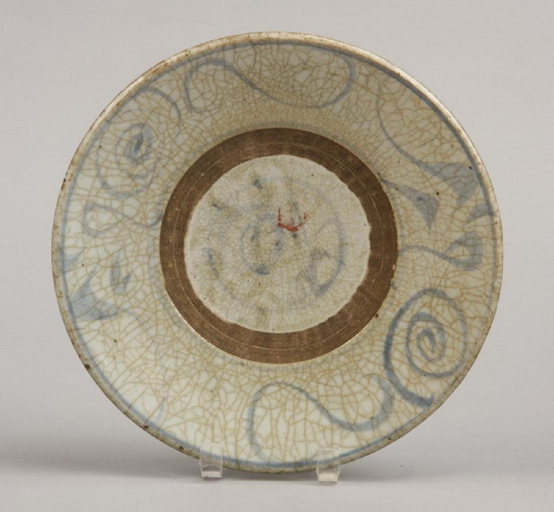 Chinese archaistic style shallow plate