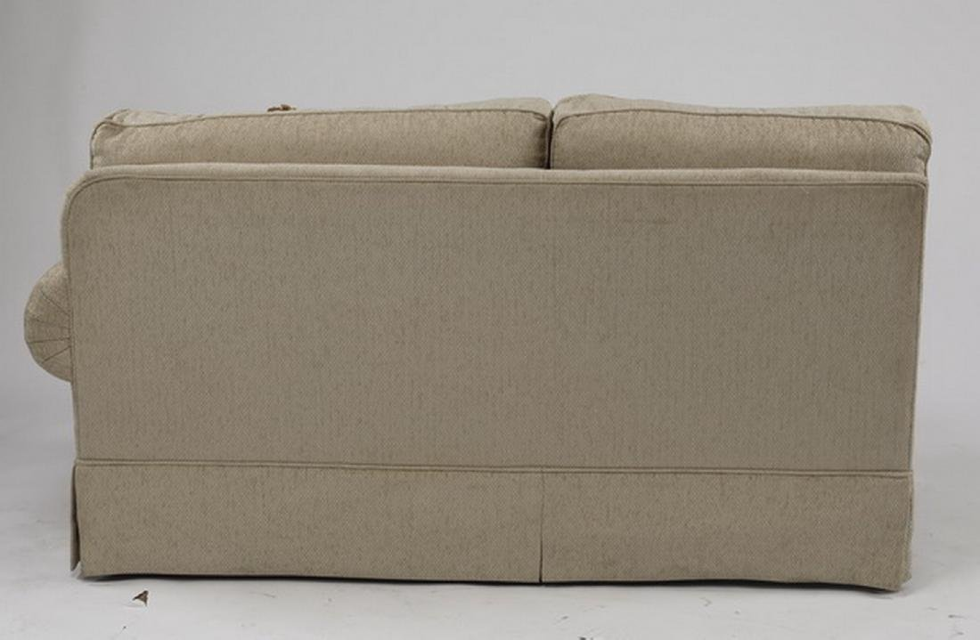 Contemporary cream upholstered sectional sofa - 7