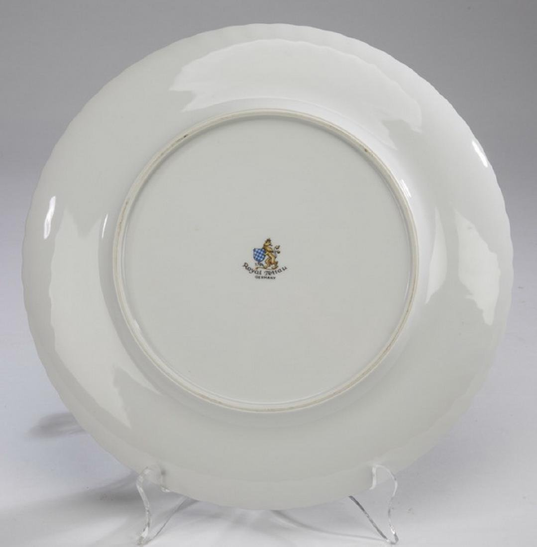 35-pcs. Royal Tettau china in 'Princess Rose & Gold' - 3