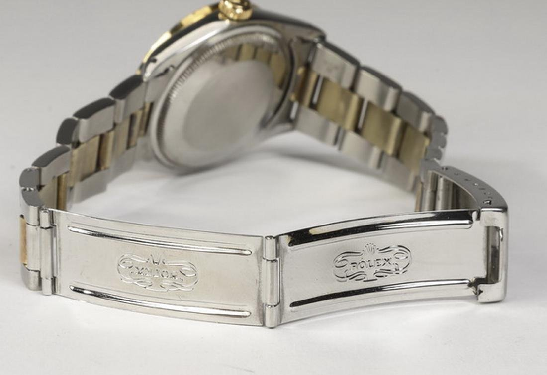 Rolex Oyster Perpetual date,14k & stainless, ca. 1975 - 3