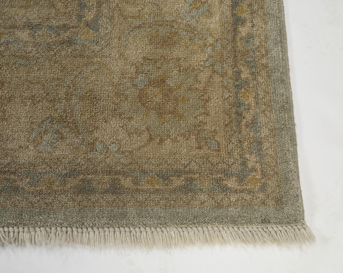 Hand knotted wool Sino-Oushak carpet, 14' x 10 - 3