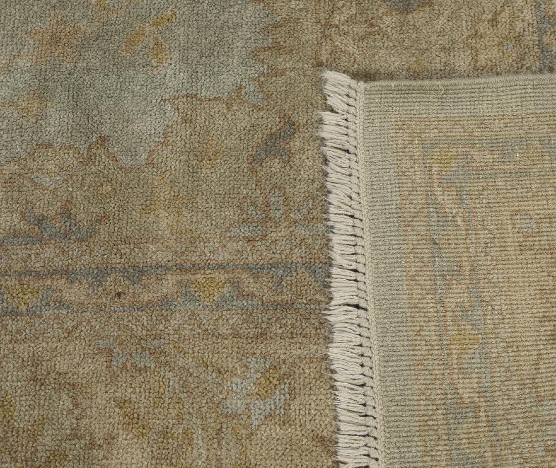 Hand knotted wool Sino-Oushak carpet, 14' x 10 - 4