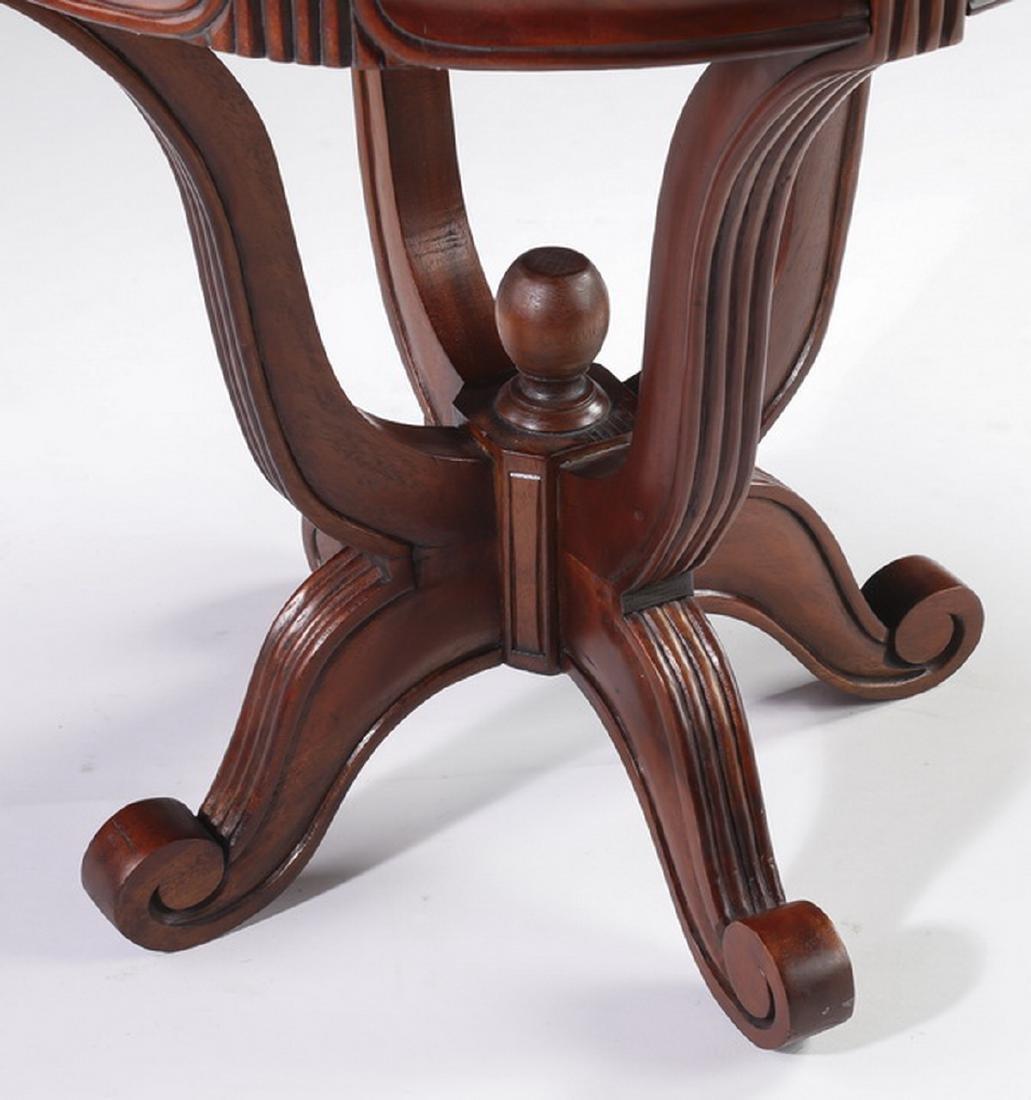 """Regency style mahogany side table, 21""""h - 4"""
