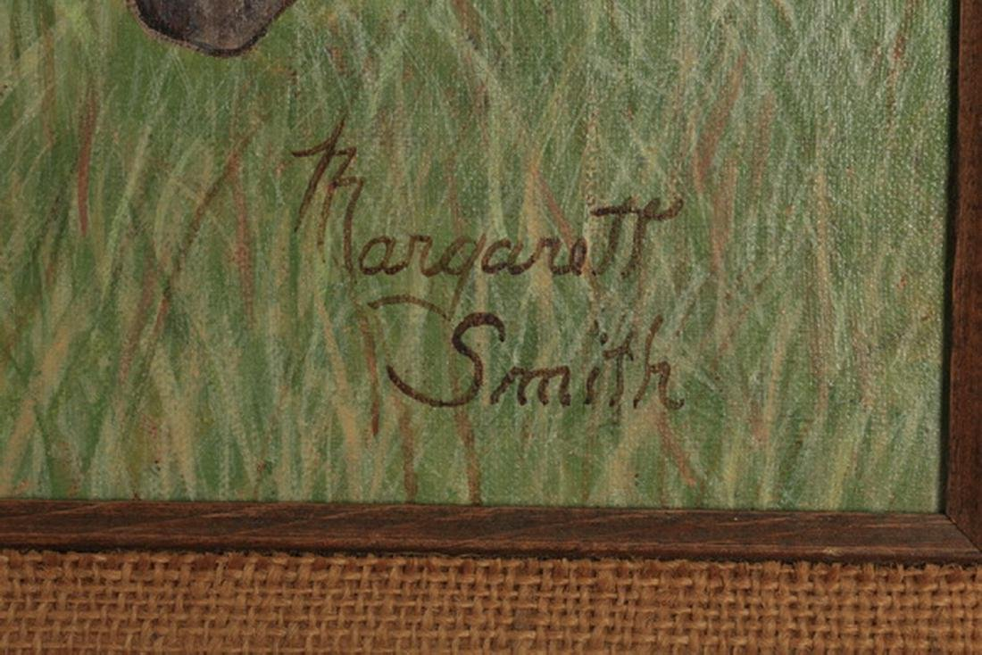 "Margaret Smith, O/c horse portrait, 23""h - 3"