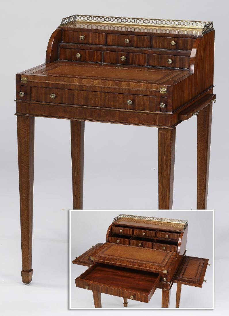 Maitland-Smith diminutive Neoclassical style desk