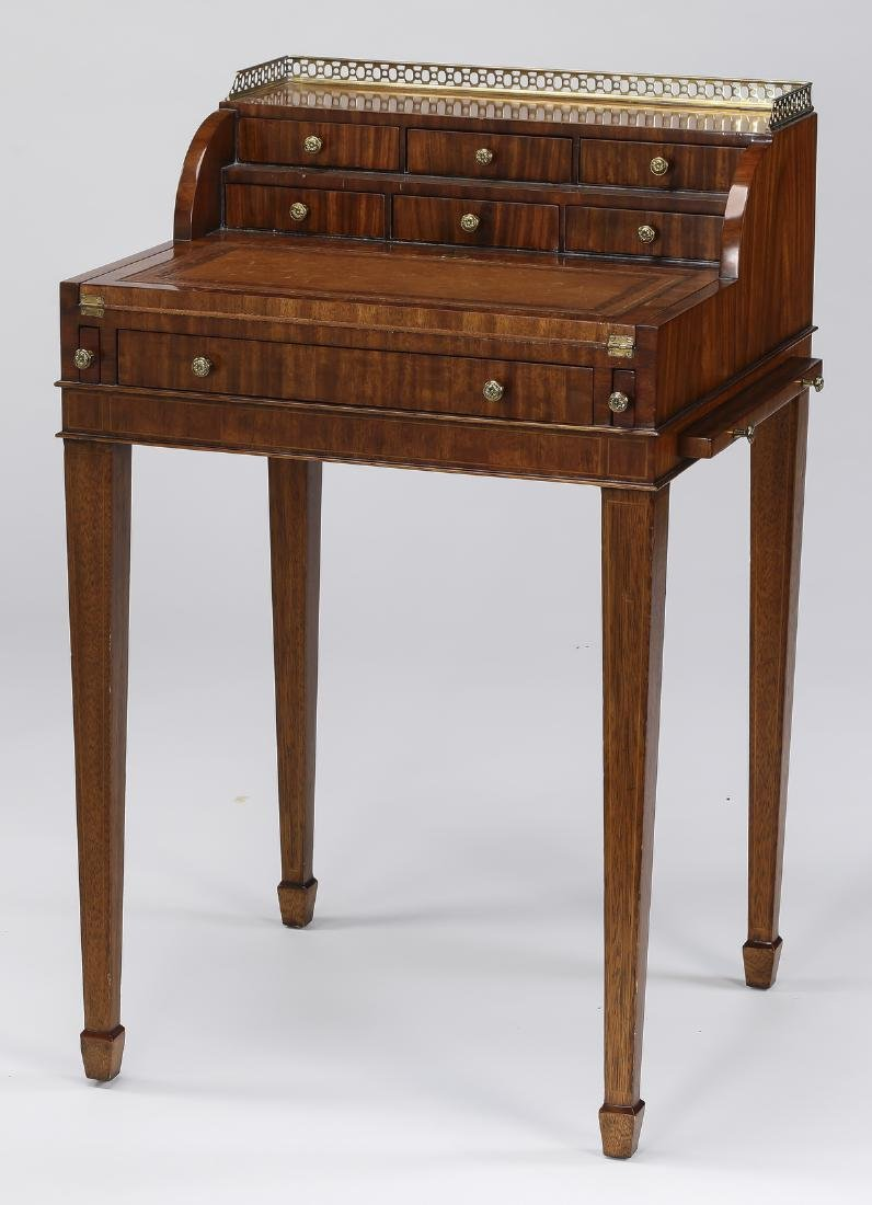 Maitland-Smith diminutive Neoclassical style desk - 2