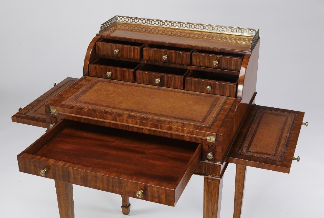 Maitland-Smith diminutive Neoclassical style desk - 4