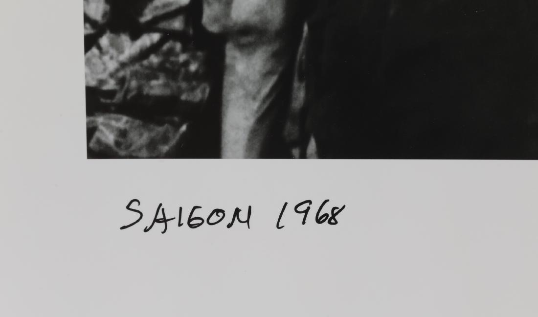 Eddie Adams signed silver print 'Saigon Execution' - 2