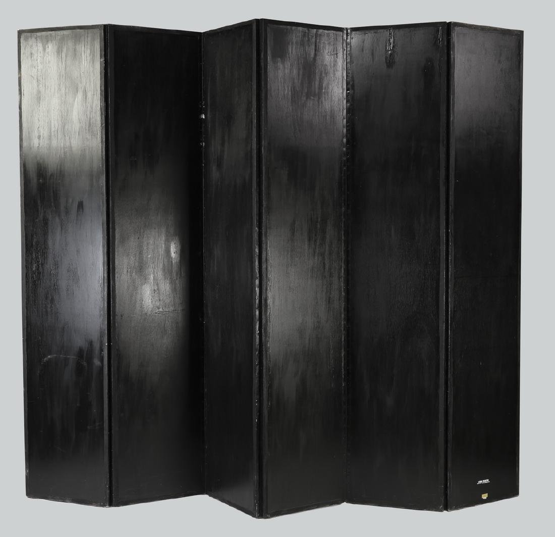 Maitland-Smith hand painted screen or room divider - 5