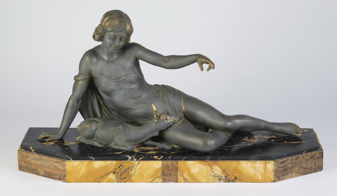 French Art Deco sculpture, attributed to Carlier