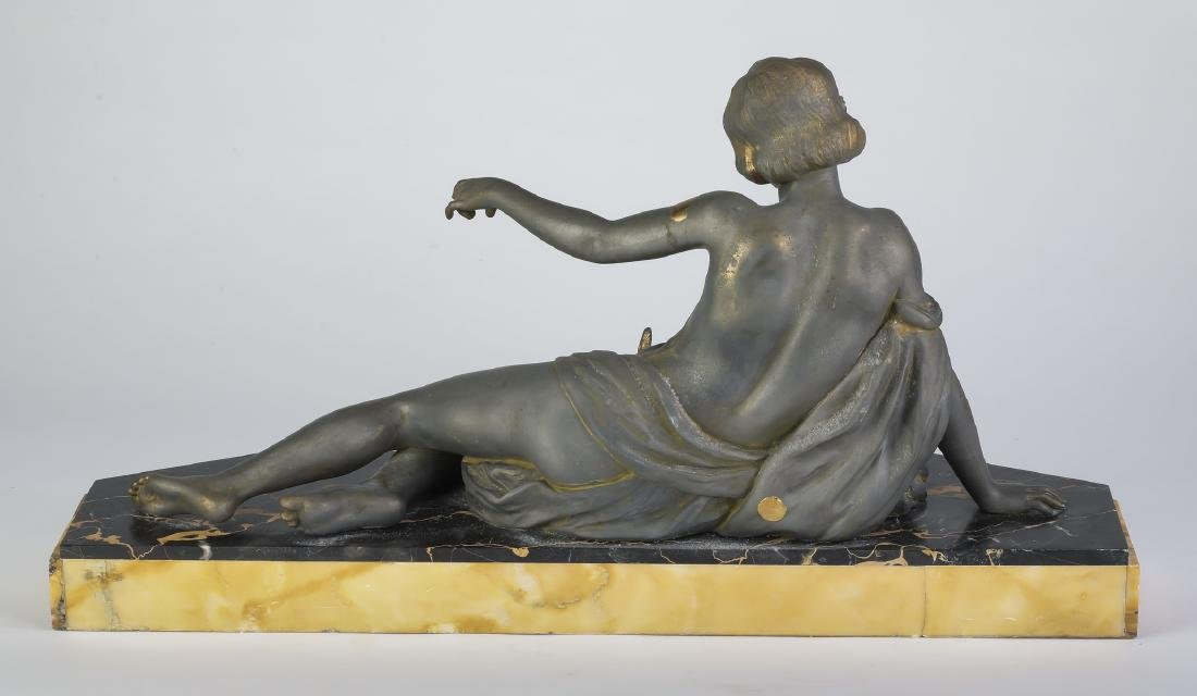 French Art Deco sculpture, attributed to Carlier - 2