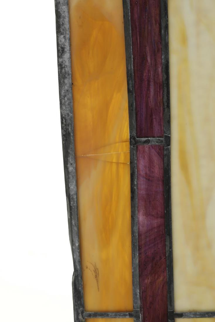 Roger Wandry custom crafted stained glass dome - 10