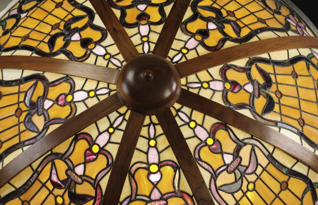 Roger Wandry custom crafted stained glass dome - 2