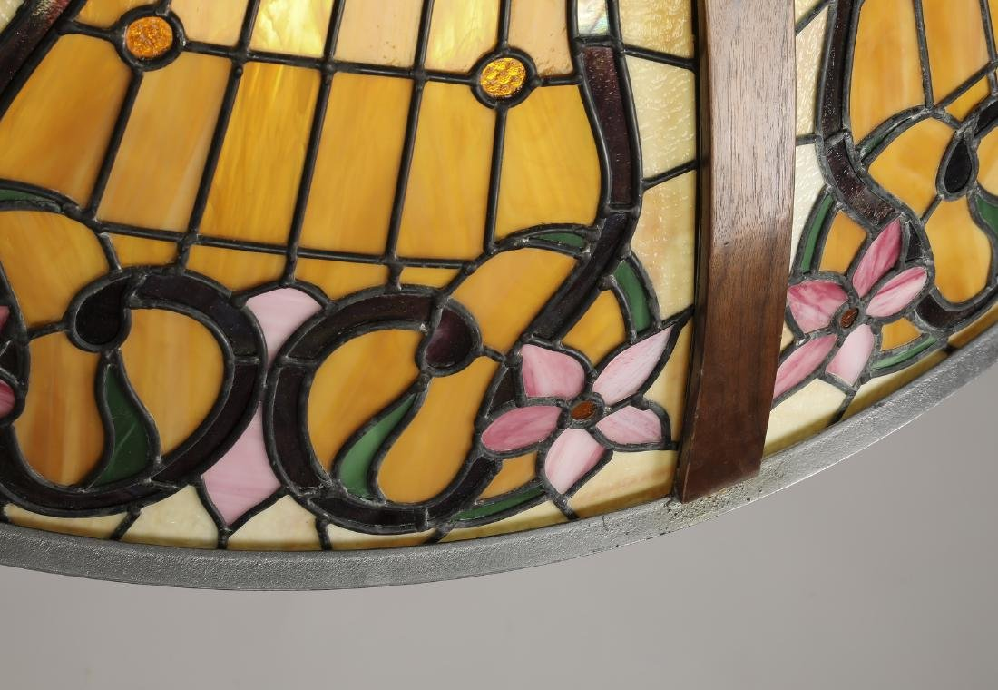 Roger Wandry custom crafted stained glass dome - 3
