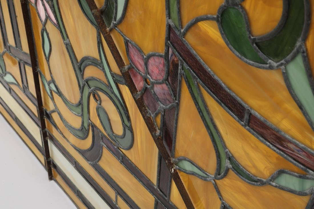 Roger Wandry custom crafted stained glass dome - 4