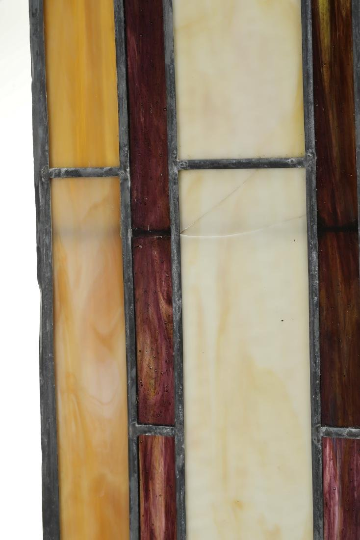 Roger Wandry custom crafted stained glass dome - 7