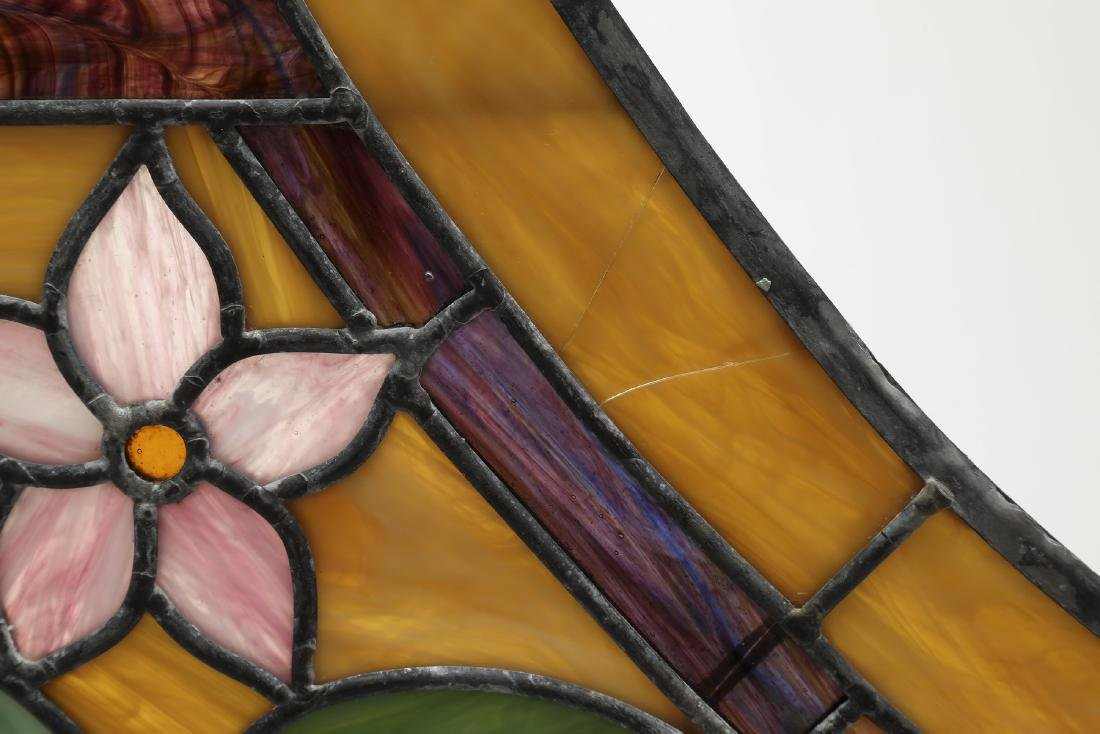 Roger Wandry custom crafted stained glass dome - 8