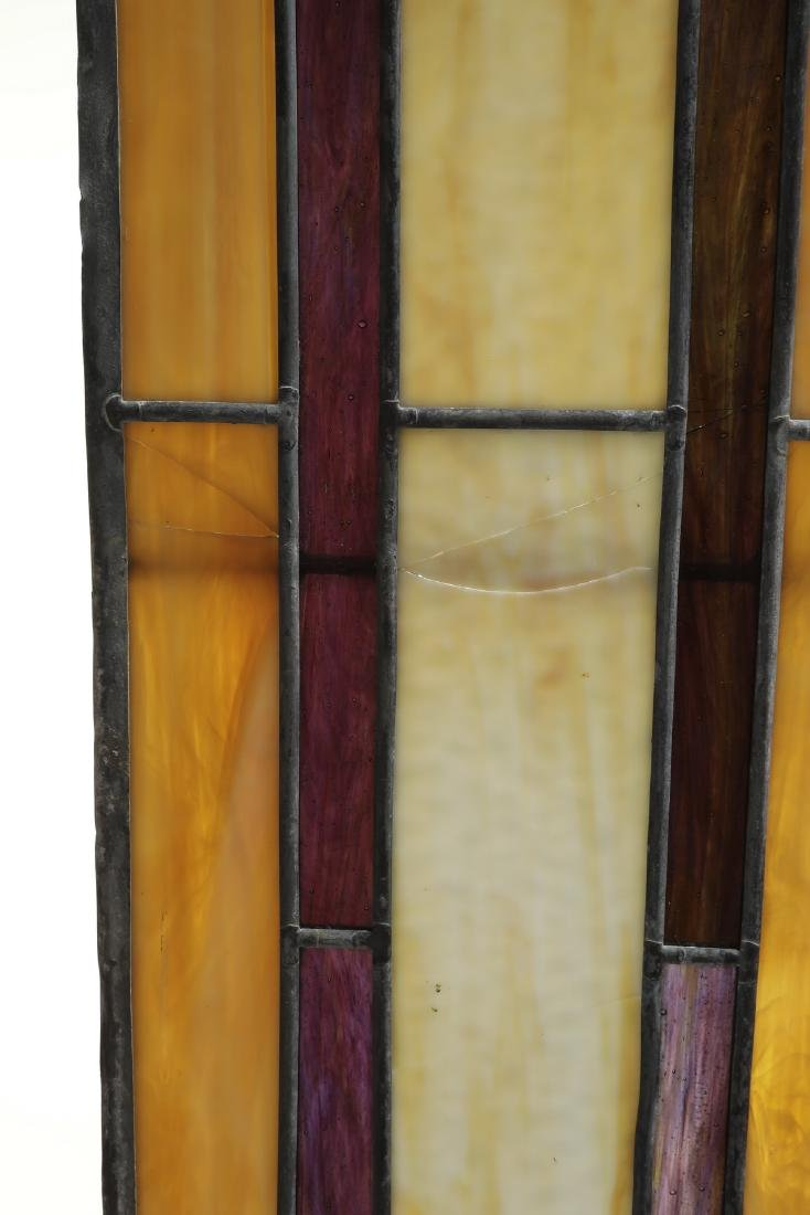 Roger Wandry custom crafted stained glass dome - 9