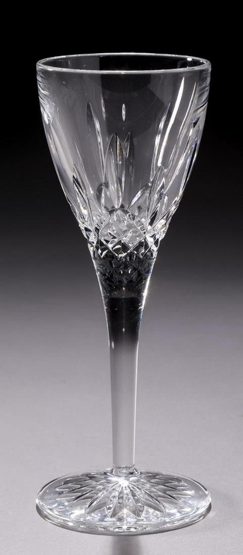 (12) Waterford crystal 'Lismore' cordial glasses - 2