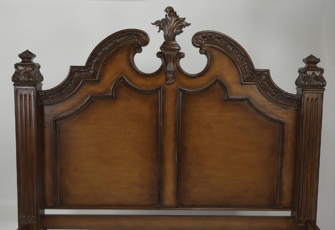 Marge Carson California king size bedstead - 2