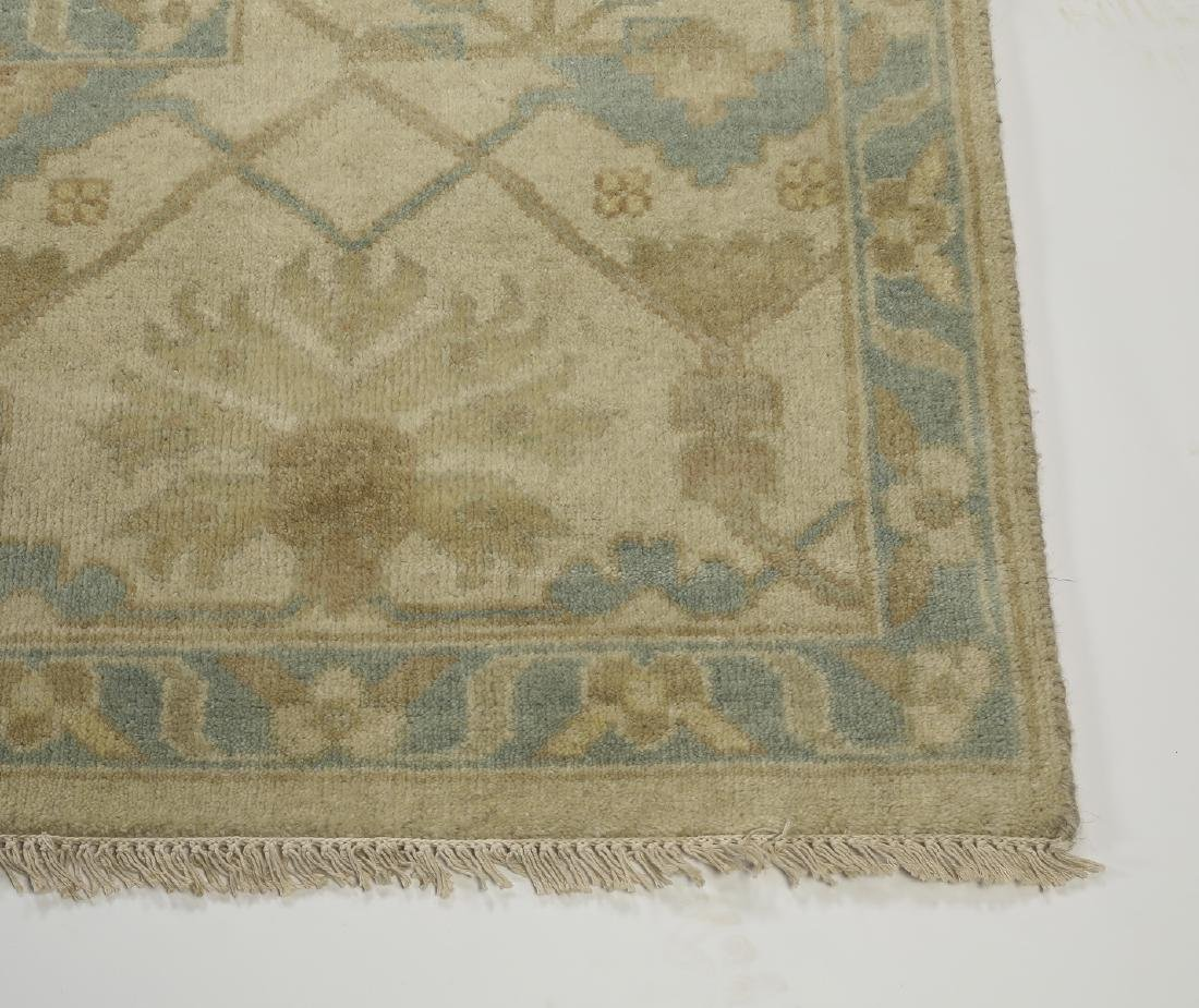 Hand knotted wool Indo-Oushak carpet, 14 x 10 - 3