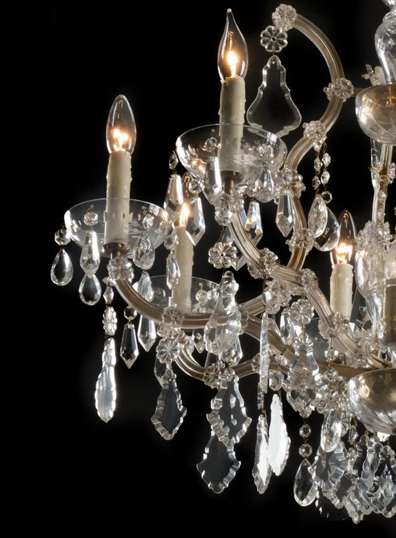 Continental Maria Theresa style 8-light chandelier - 2