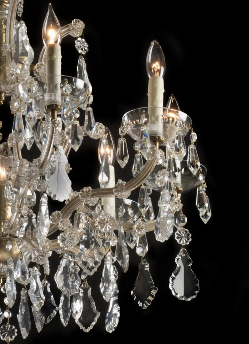 Continental Maria Theresa style 8-light chandelier - 3