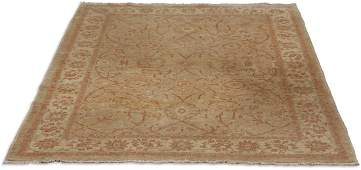 Hand knotted Turkish wool rug 9 x 6