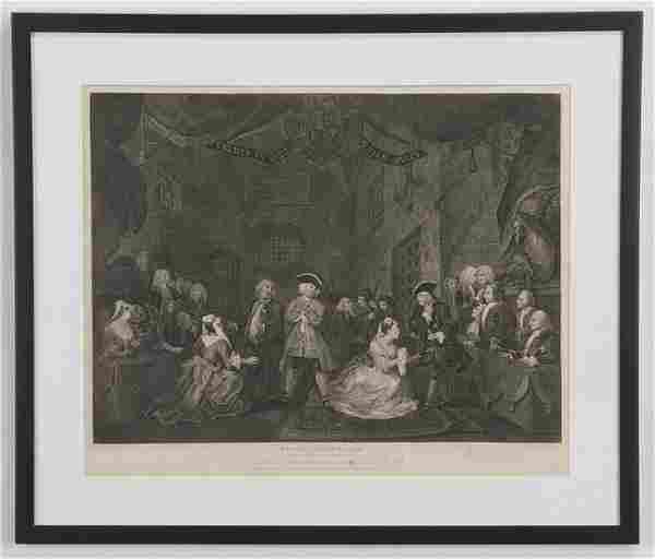 18th c. William Hogarth engraving