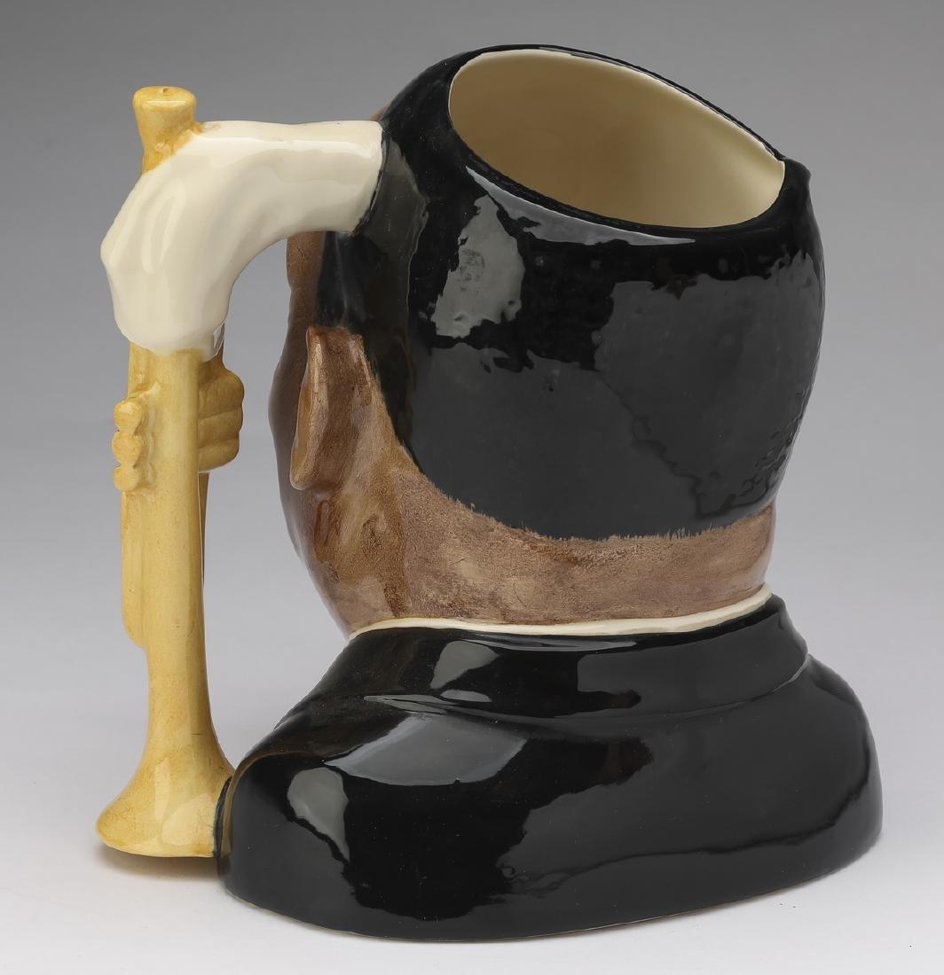 "Royal Doulton Toby jug of Louis Armstrong, 8""h - 2"