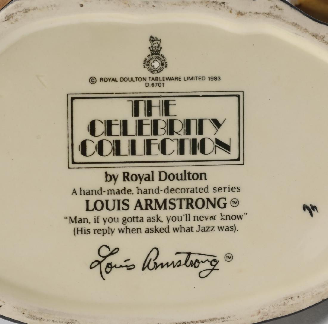 "Royal Doulton Toby jug of Louis Armstrong, 8""h - 3"