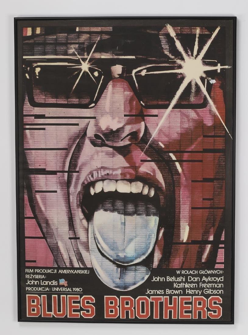 (2) Polish Film Posters, 'Blues Brothers' & 'Star 80'