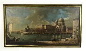 Monumental O/c of Santa Maria della Salute in Venice