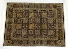 IndoPersian hand knotted wool carpet 12 x 9