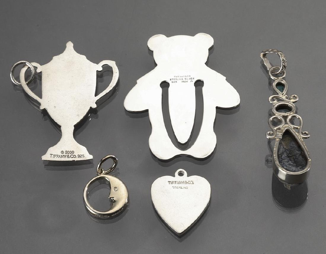 (5) Sterling items, including Tiffany & Co. charms - 3