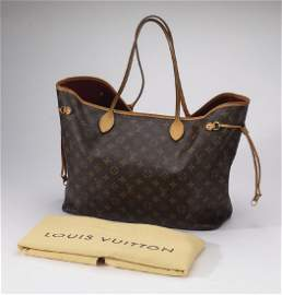 Louis Vuitton brown monogram 'Neverfull GM'