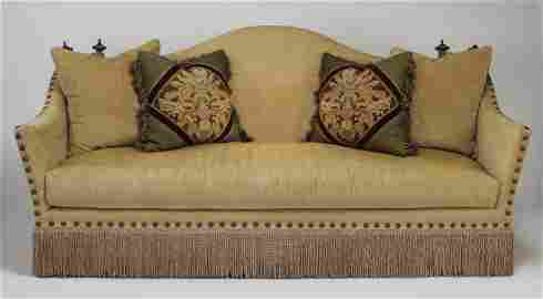 Ferguson-Copeland Knole style sofa w/ accent pillows
