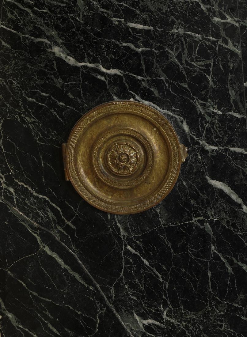 19th c. Italian verde marble mantel - 7