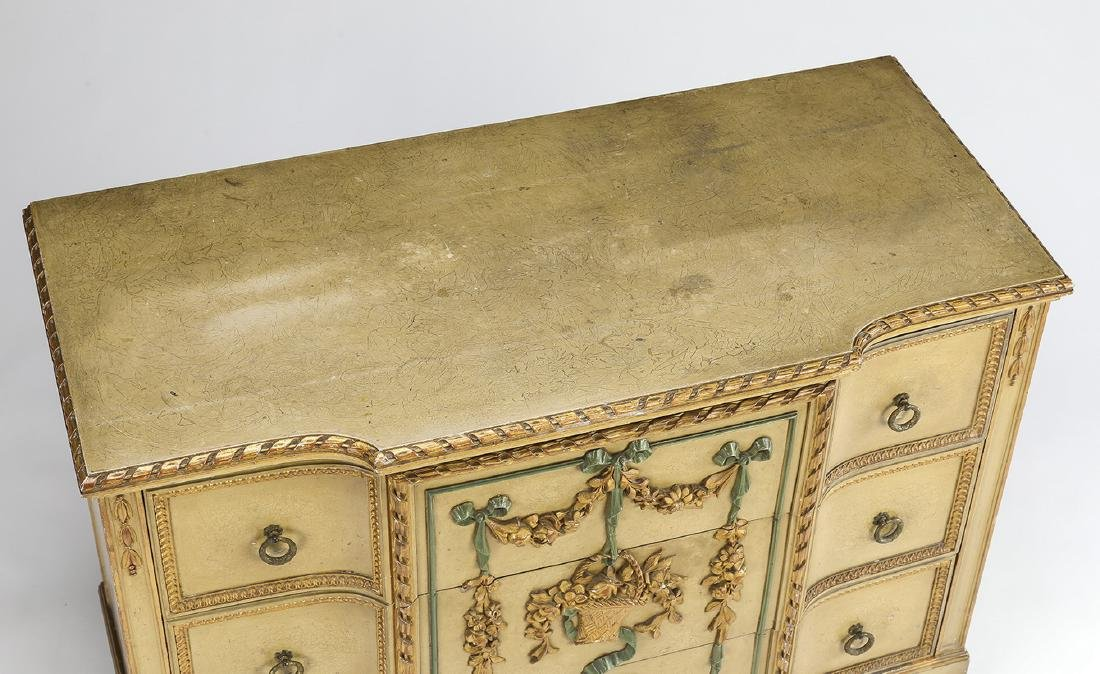 Venetian Rococo style paint-decorated commode - 4