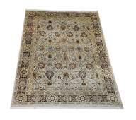 Hand knotted wool Sino-Oushak carpet, 10 x 14