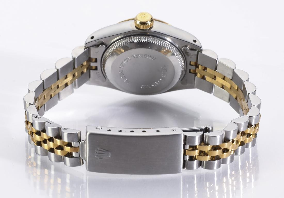 Lady's Rolex Oyster Perpetural Datejust w/ diamonds - 2