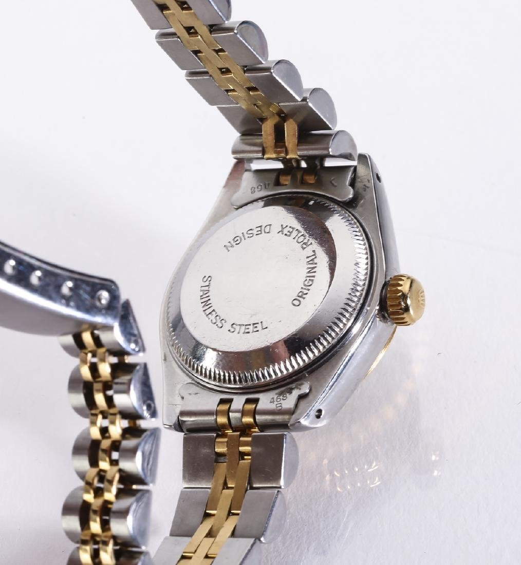 Lady's Rolex Oyster Perpetural Datejust w/ diamonds - 4